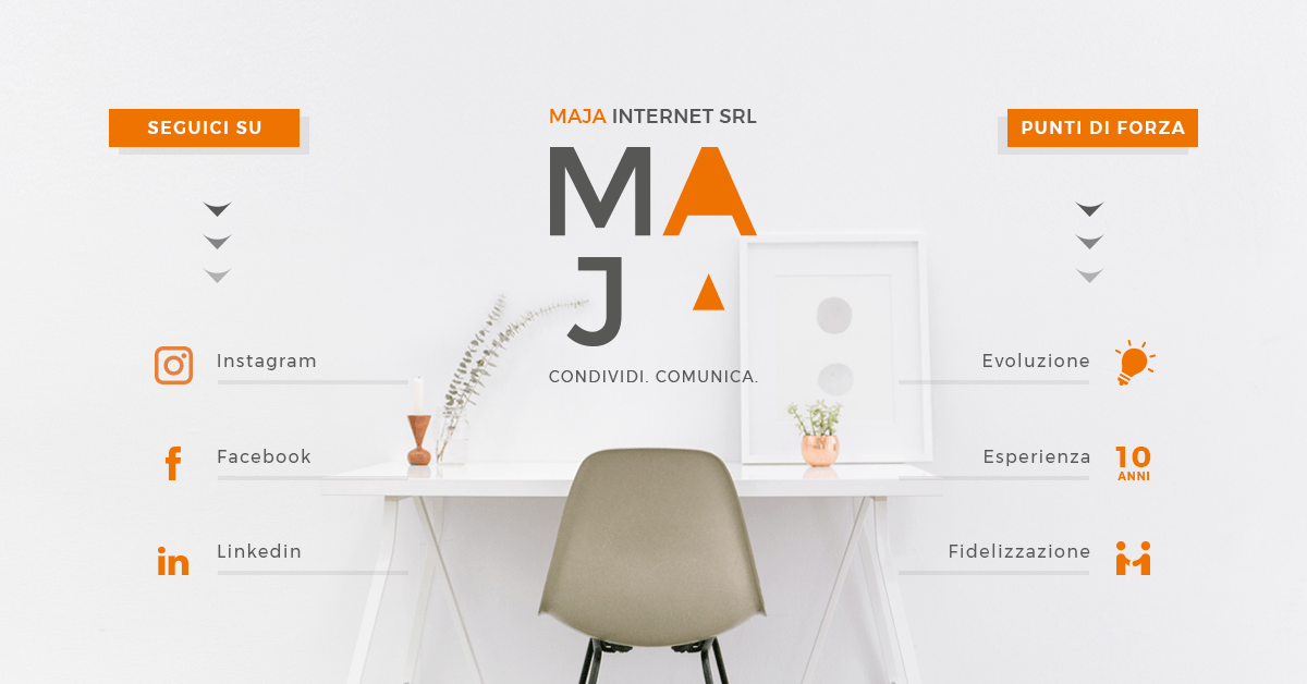 Maja Internet, Web Agency Brescia
