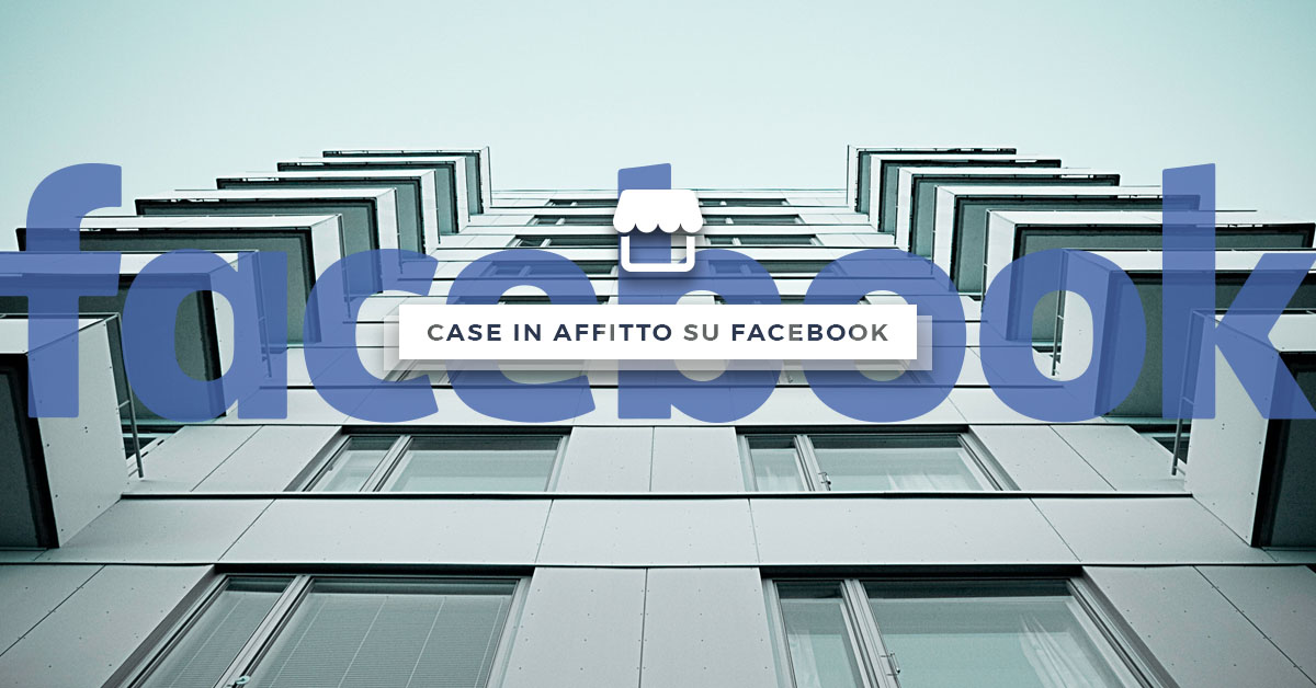 Case in affitto Facebook