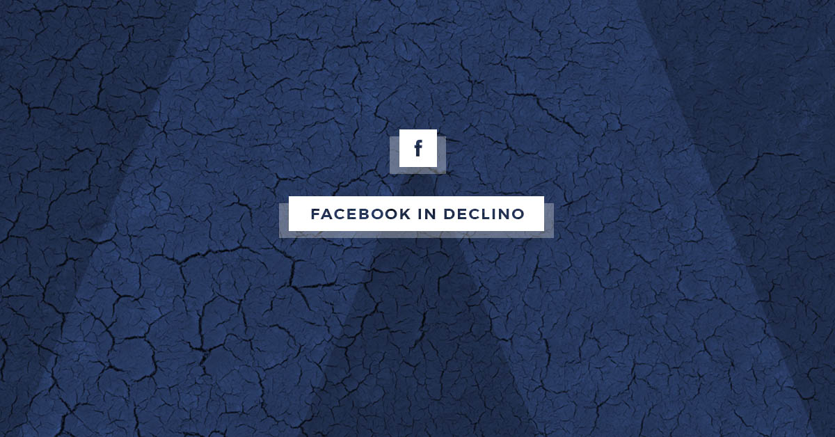 Facebook in declino