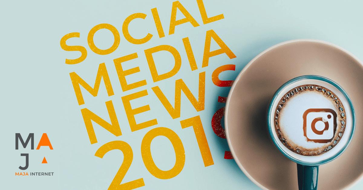 Social Media News 2019